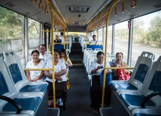 Yangon gets first-ever regular bus network