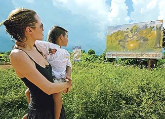 Angelina Jolie buys more land in Cambodia – from former Khmer Rouge soldier
