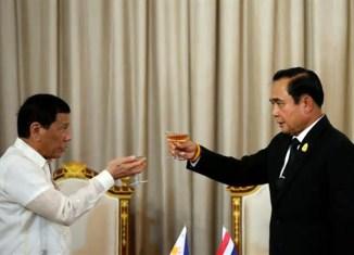 Thailand, Philippines tie up to combat drug trafficking, strengthen defense