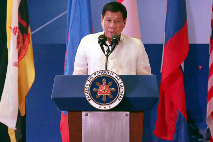 Duterte stresses non-interference policy at ASEAN summit (full speech)