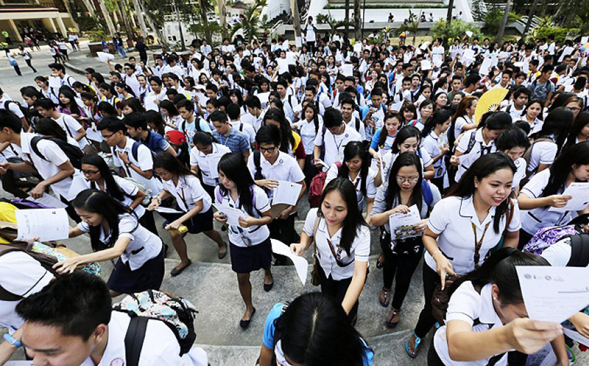 Tertiary state education made free in the Philippines