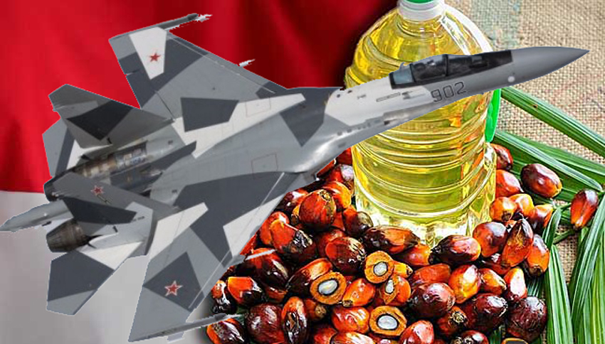 Indonesia to trade palm oil and coffee for Russian fighter jets