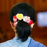 Ratings for Suu Kyi's new Myanmar government not very flattering