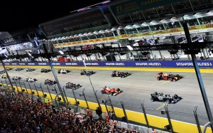 Singapore agrees on hosting Formula 1 for another four seasons