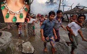 "Luxury brand Bulgari under fire for using ""genocide gems"" from Myanmar"