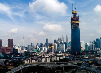 Malaysia's new tallest building to supersede Twin Towers next year