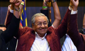 Opposition scores historic win in Malaysia landmark election