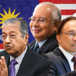 Political titans face off in Malaysia's suspense election this week