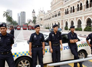 Massive police presence to safeguard Malaysia's general election