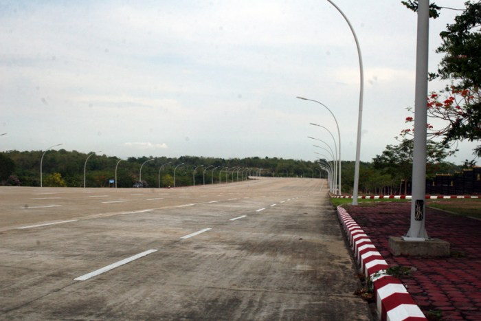 Into the void: Impressions from Naypyidaw
