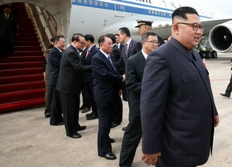 Kim Jong-un arrives in Singapore for meeting with Trump in Sentosa
