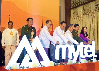 Army-backed fourth telecom provider launched in Myanmar
