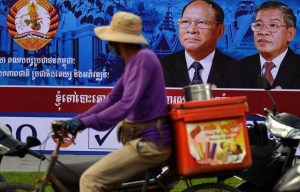 Cambodia goes to the polls – government blocks critical news websites
