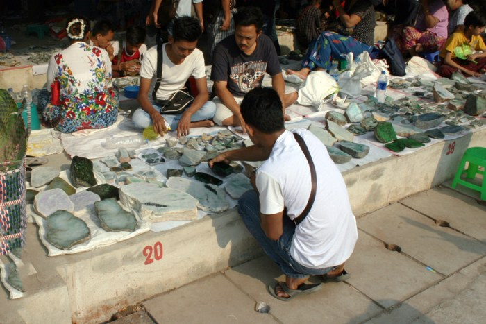 The world's largest jade market: A photo tour