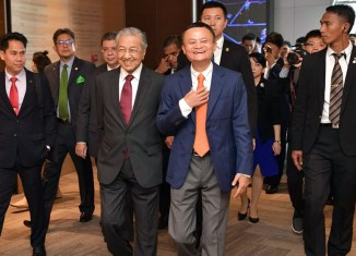 Dr. M talks tech with Alibaba's Ma