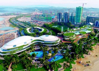 Forest City Johor Construction