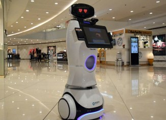Service robots to assist shoppers in Metro Manila mega mall