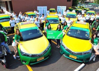 Thailand's Central Group To Invest $200 Million In Ride-hailing Service Grab