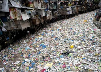 Philippines Drowning In Plastic Bag Waste