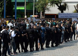 Elections Kick Off In Thailand With High Long Lines At Voting Stations