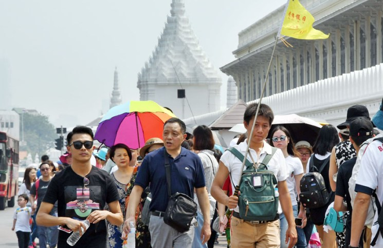 Chinese Tourist Arrivals In Thailand Drop Further