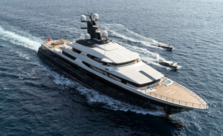 1mdb-linked Superyacht Has Become Trading Object