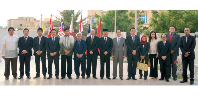 ASEAN ambassadors in Qatar: 'AEC on track'