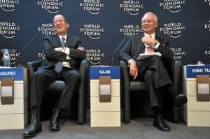 President Benigno Aquino III and Prime Minister Mohd Najib Bin Tun Abdul Razak