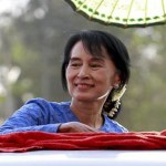 Suu Kyi's party to run in Myanmar elections