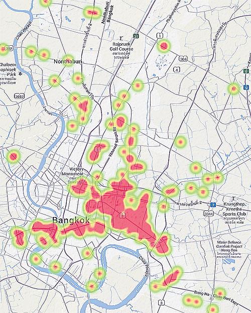 BKK condo market areas