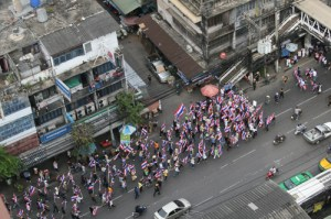 Bangkok protests Nov 2013