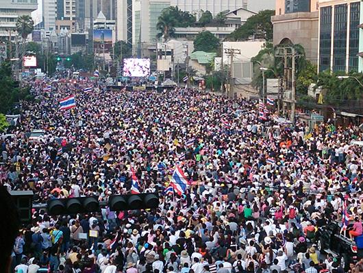 Bangkok protests Dec 22_5_Arno Maierbrugger