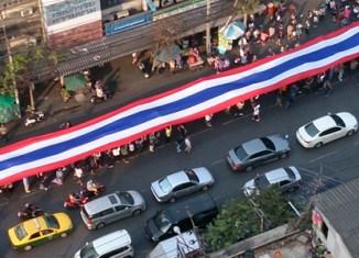 Massive Bangkok shutdown continues