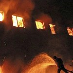 Deadly fire in Bangladesh garment factory (video)