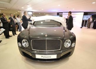 Bentley rolls into the Philippines