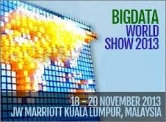 Big Data World Show in Kuala Lumpur – Not to be missed!