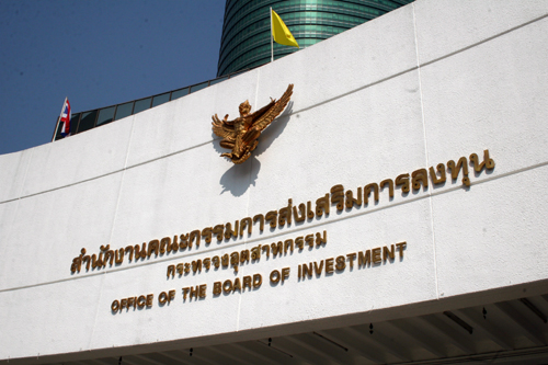 Board Of Investment Thailand