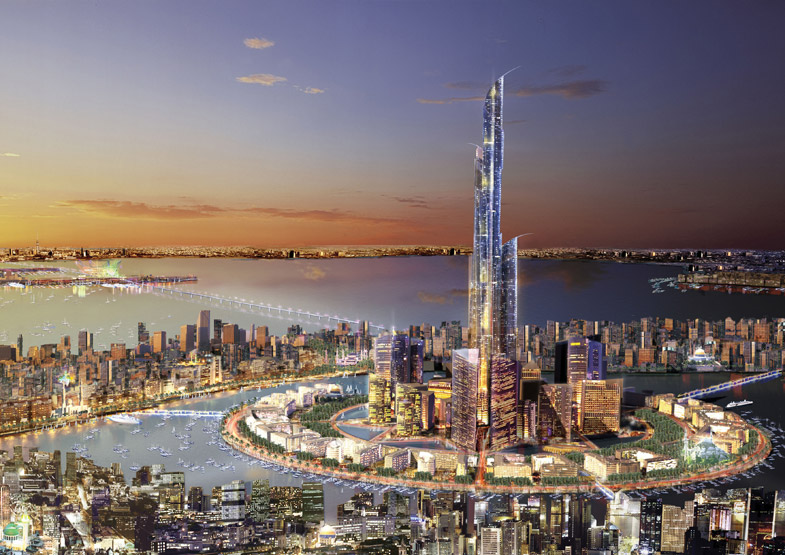 Absurd race for Asia's tallest tower