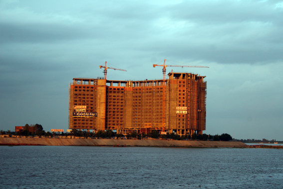 Rising from the dust: Cambodia's building boom