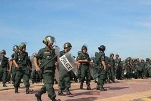 Cambodia police