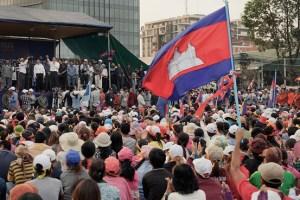 Cambodia strikes