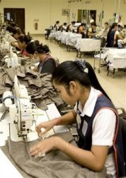 Cambodia Garment Workers