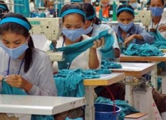 Cambodia's garment exports rise 22%