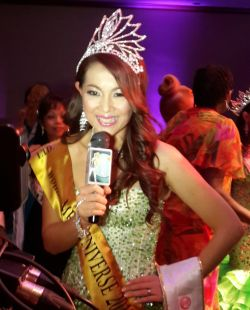 Malaysian lady wins Mrs Universe title