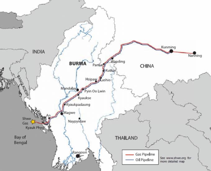 China still center stage in Myanmar