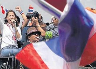 Thailand's celebrity fighter: Beer heiress joins protests