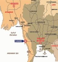 Dawei Strategic Location