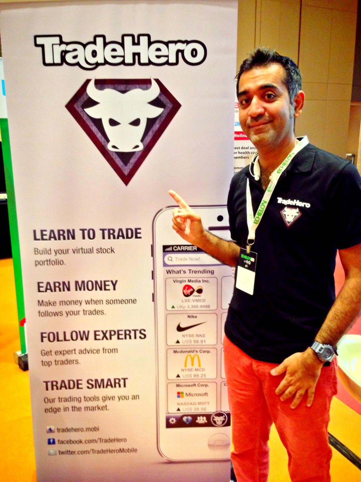 Singapore stock trading app makes a splash