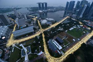F1 racetrack in Singapore