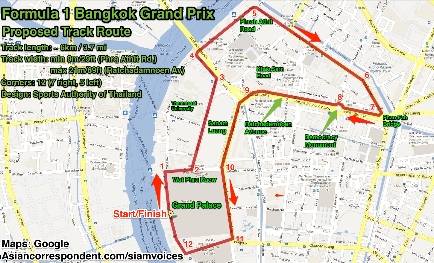 Bangkok at odds over F1 race (video)